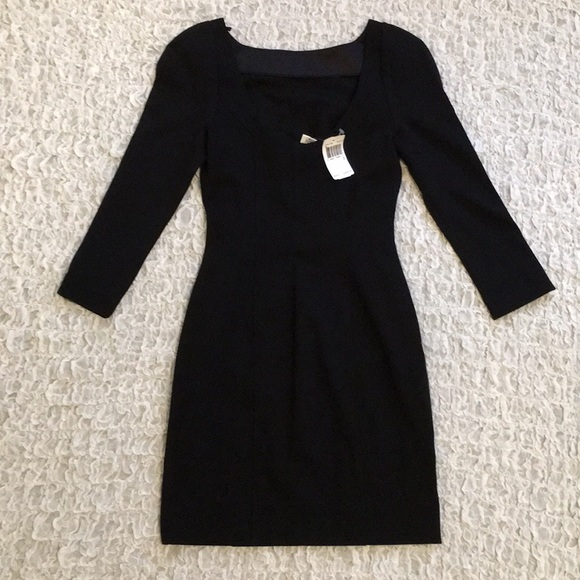 Diane Von Furstenberg Dresses & Skirts - Diane von Furstenberg little black dress DVF